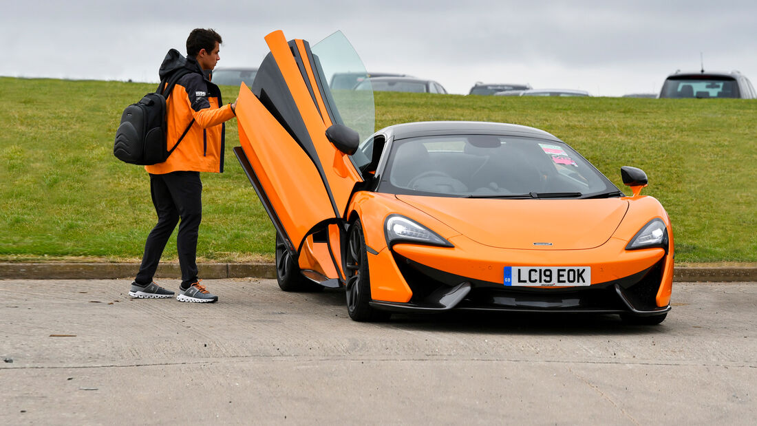 McLaren 570S - Dienstwagen - F1-Piloten 2019