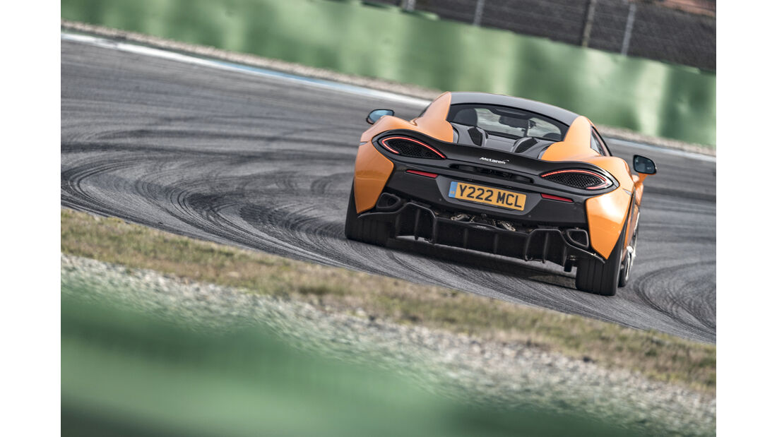 McLaren 570S, Einzeltest, spa0119