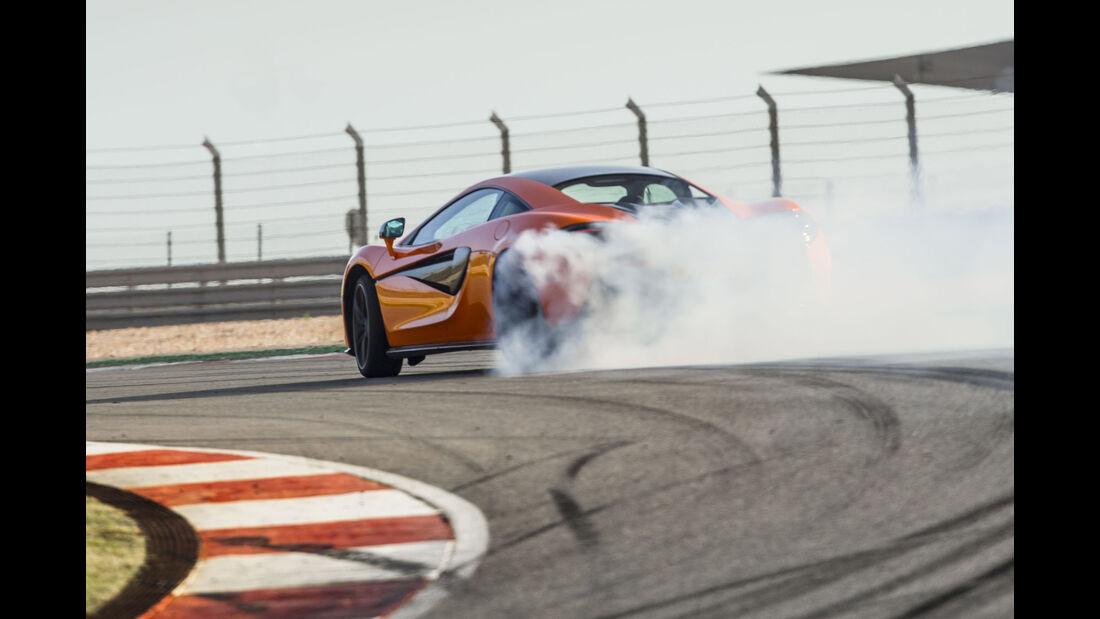 McLaren 570S, Fahrbericht, Rennstrecke, 10/2015