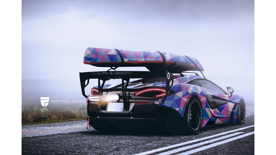 McLaren 570S - Fantasie-Auto