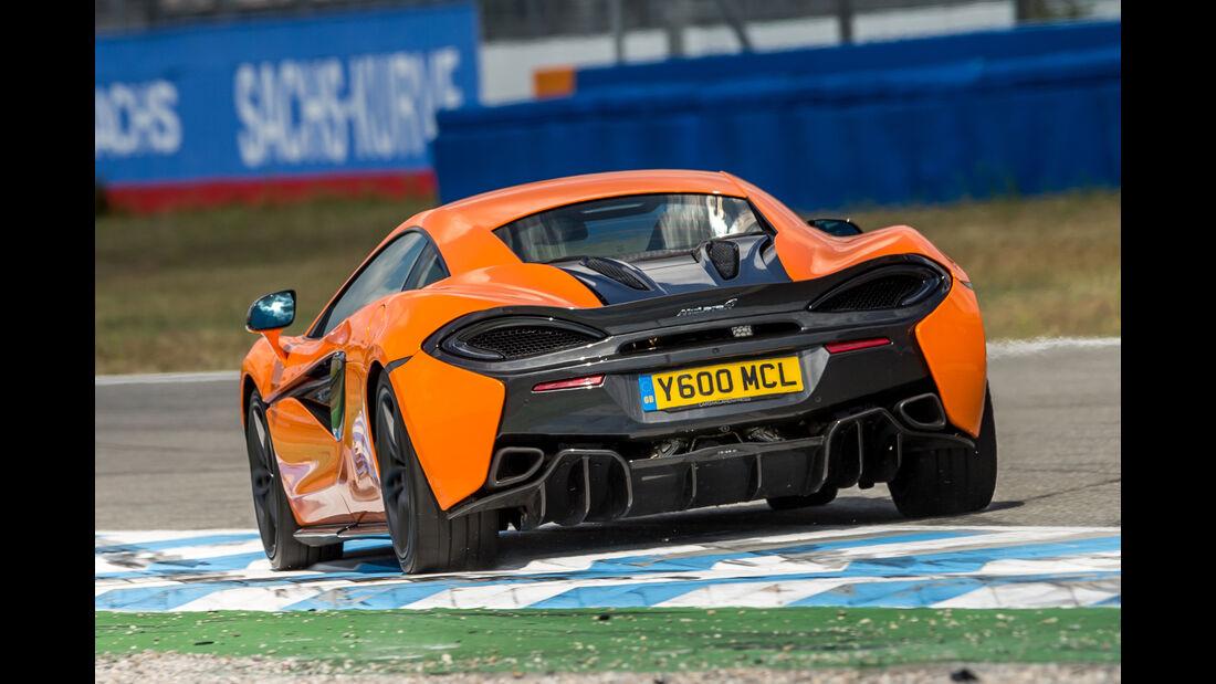 McLaren 570S, Heckansicht