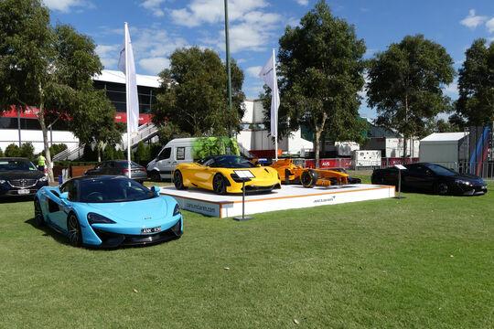 McLaren 570S - McLaren 720S - GP Australien 2018 - Melbourne - Albert Park - Mittwoch - 21.3.2018