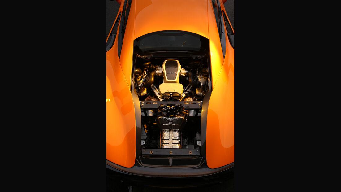 McLaren 570S, Motor