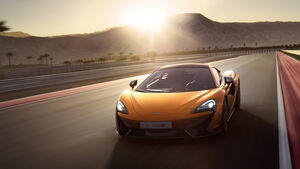 McLaren 570S New York Autoshow