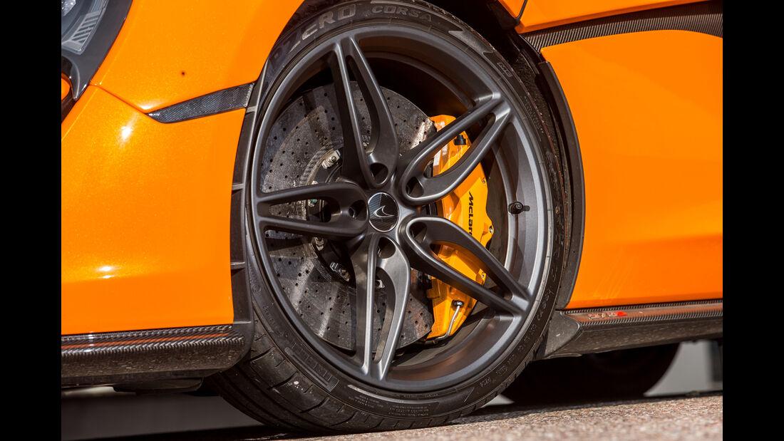 McLaren 570S, Rad, Felge