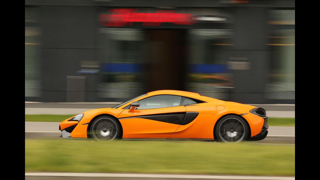 McLaren 570S, Seitenansicht
