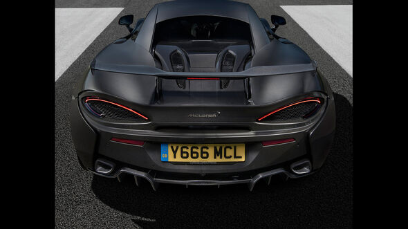 McLaren 570S - Sportwagen - Highdownforce-Kit - MSO