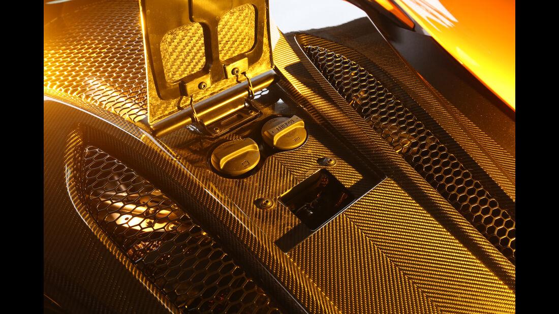 McLaren 570S, Tankdeckel, Karbon