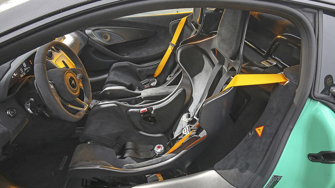 McLaren 600LT, Interieur