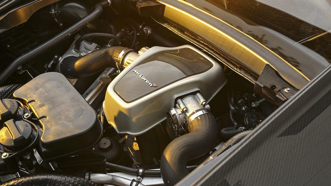 McLaren 600LT, Motor