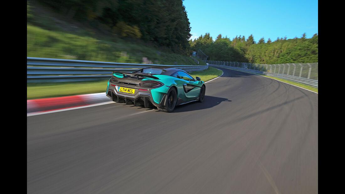McLaren 600LT - Sportwagen - Nürburgring - Nordschleife - Supertest