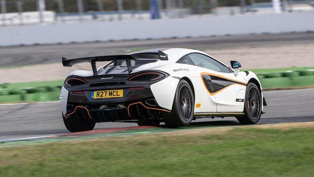 McLaren 620R, Exterieur
