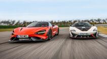 McLaren 620R, McLaren 765LT, Exterieur