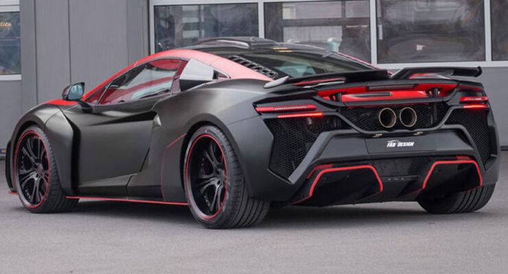 McLaren 650S/12C von FAB Design Vayu GTR Coupe