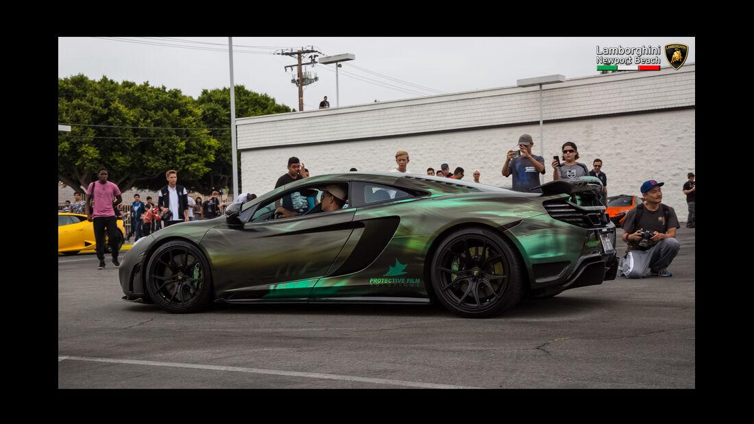 McLaren 650S - 200 mph Supercarshow - Newport Beach - Juli 2016
