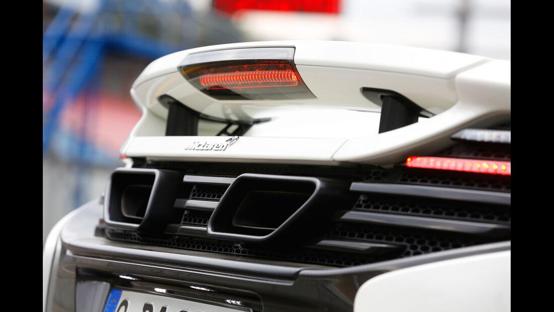 McLaren 650S Spider, Endrohre