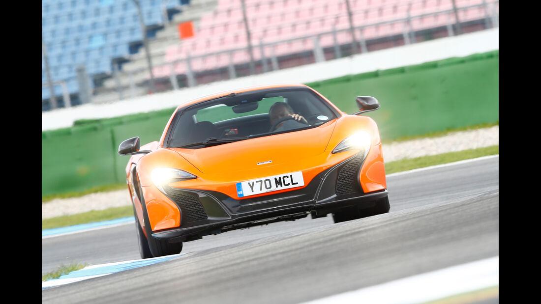 McLaren 650S Spider, Frontansicht
