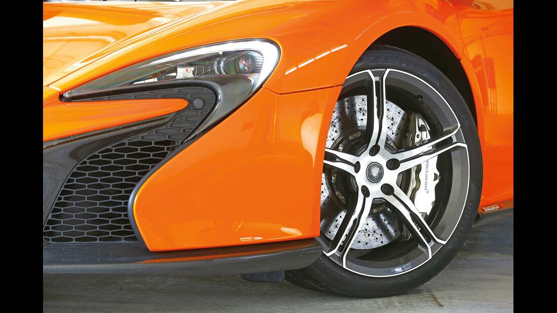 McLaren 650S Spider, Rad, Felge