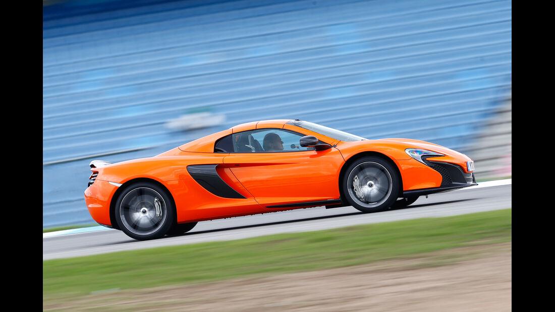 McLaren 650S Spider, Seitenansicht