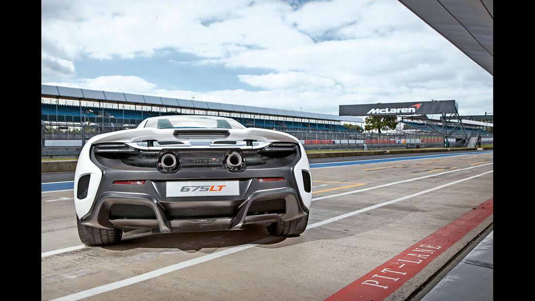 McLaren 675LT, Heckansicht