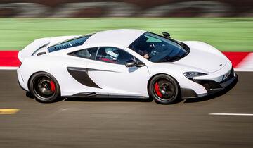 McLaren 675LT, Seitenansicht