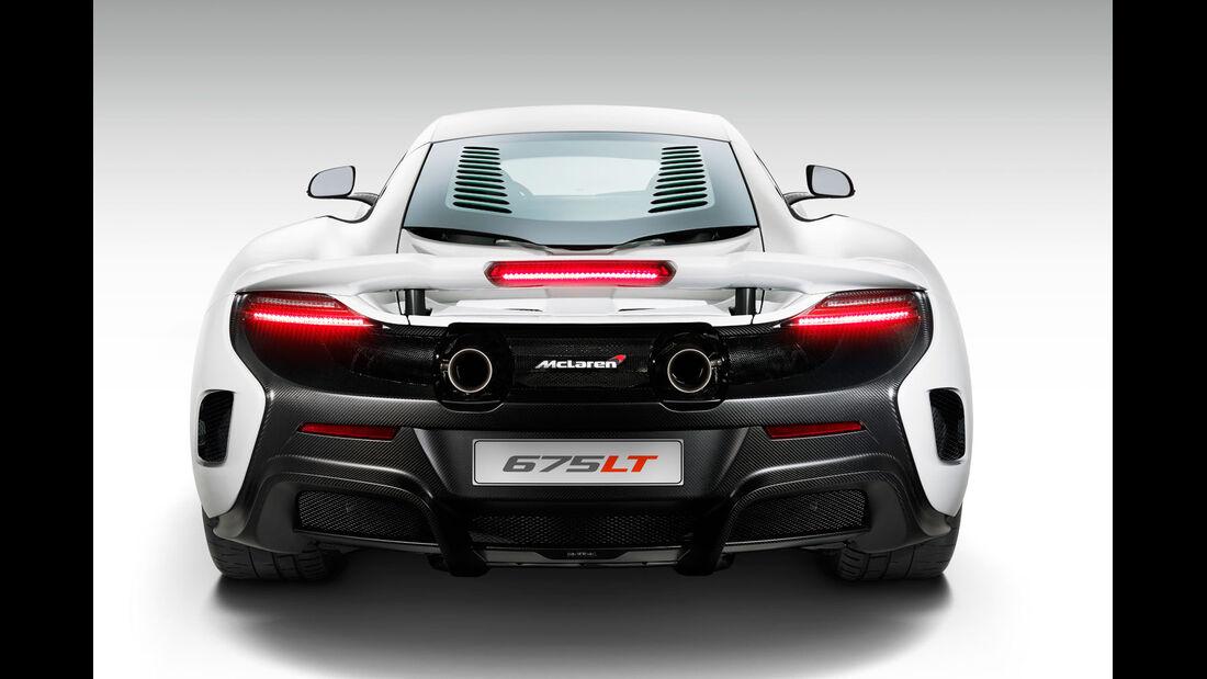 McLaren 675LT - Sportwagen - Genfer Autosalon 2015