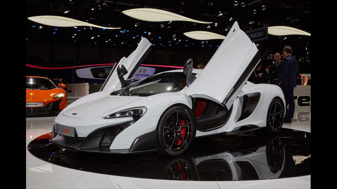 McLaren 675LT in Genf