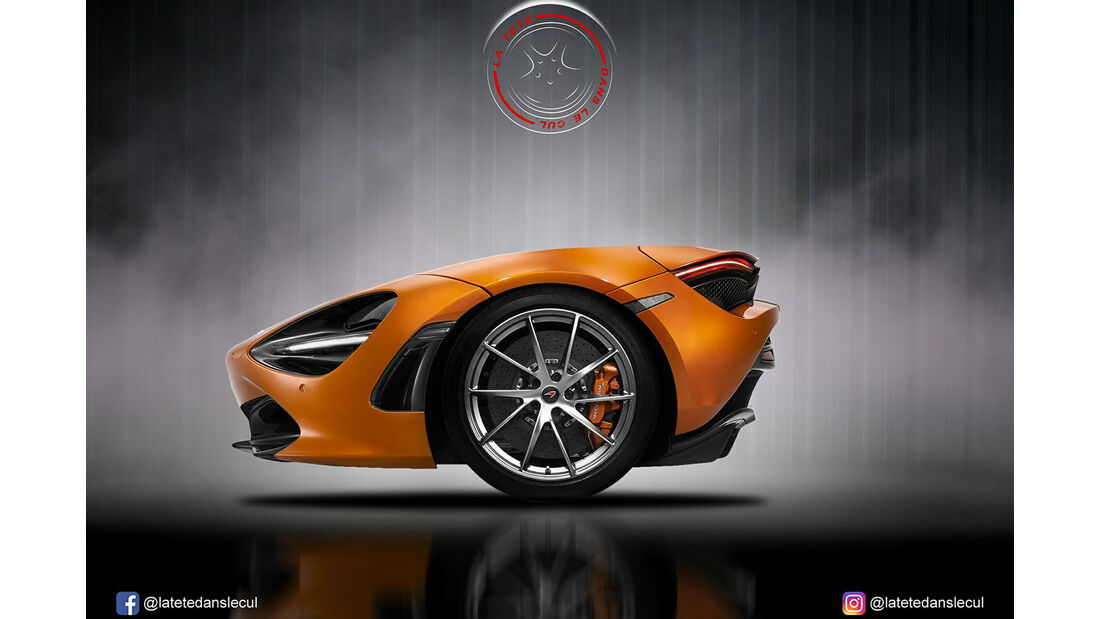McLaren 720 S Retusche