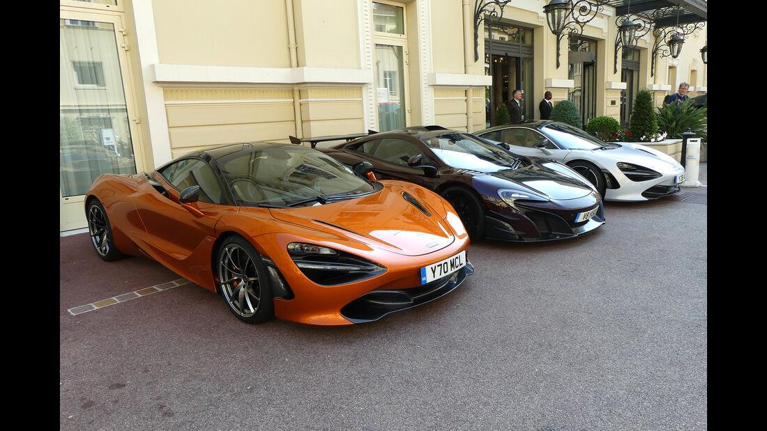 McLaren 720S - Carspotting - GP Monaco 2017