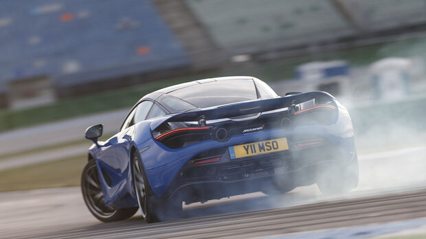 McLaren 720S, Exterieur