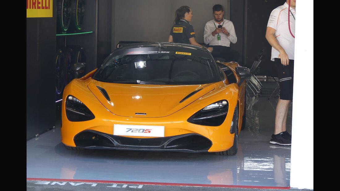 McLaren 720S - GP Deutschland - Hockenheim - Formel 1 - Donnerstag - 19.7.2018