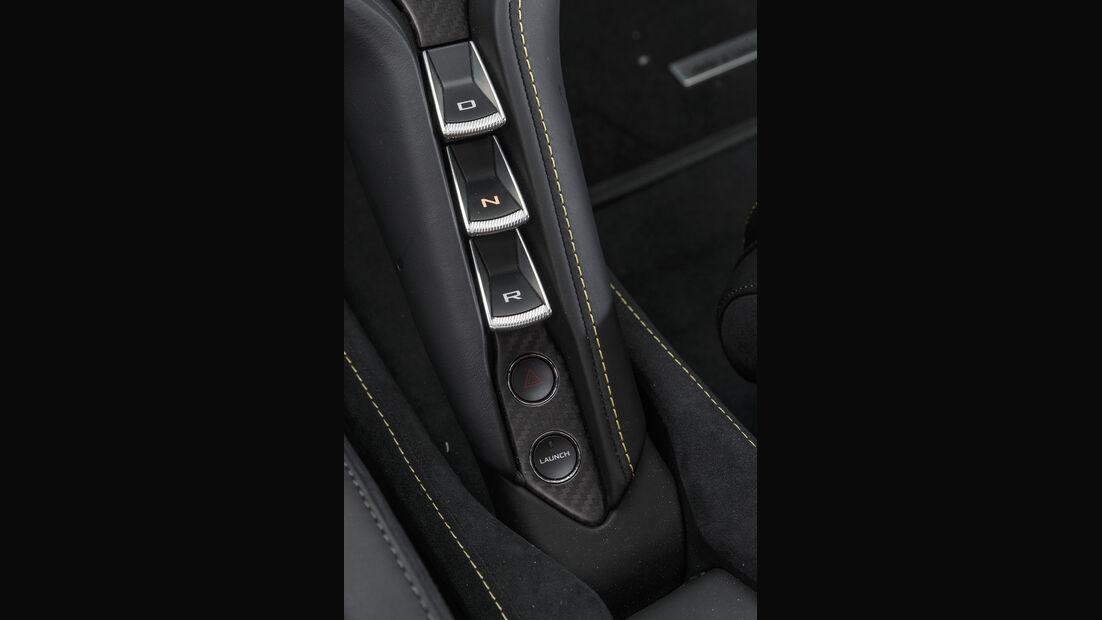 McLaren 720S, Interieur