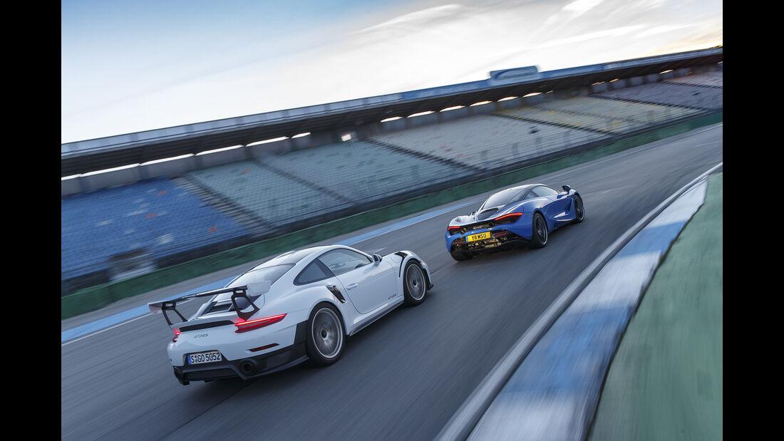 McLaren 720S, Porsche 911 GT2 RS, Exterieur