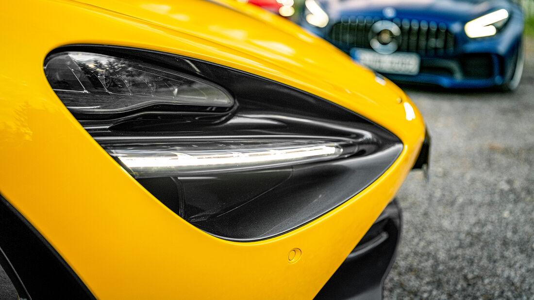 McLaren 720S Spider, Exterieur