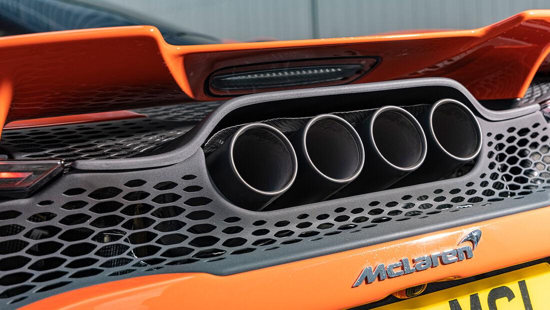 McLaren 765LT, Exterieur