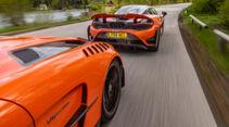 McLaren 765LT, Mercedes-AMG GT Black Series, Exterieur