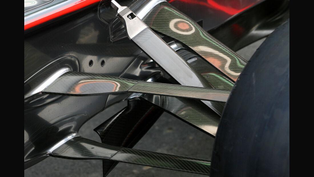 McLaren-Aufhängung - GP Indien - 27.10.2011