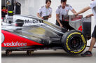 McLaren Auspuff GP Ungarn 2012
