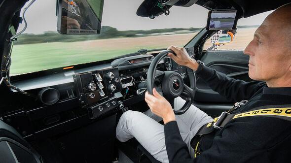 McLaren BP23 Centre Seat Development Mule