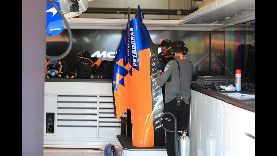 McLaren - Barcelona - F1-Test - 18. Februar 2019
