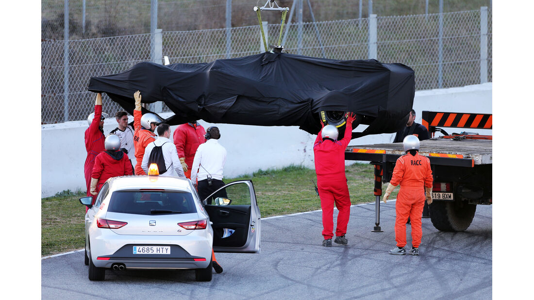 McLaren - Barcelona Test 2 - 2015