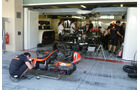 McLaren-Box - GP Abu Dhabi - 10. November 2011