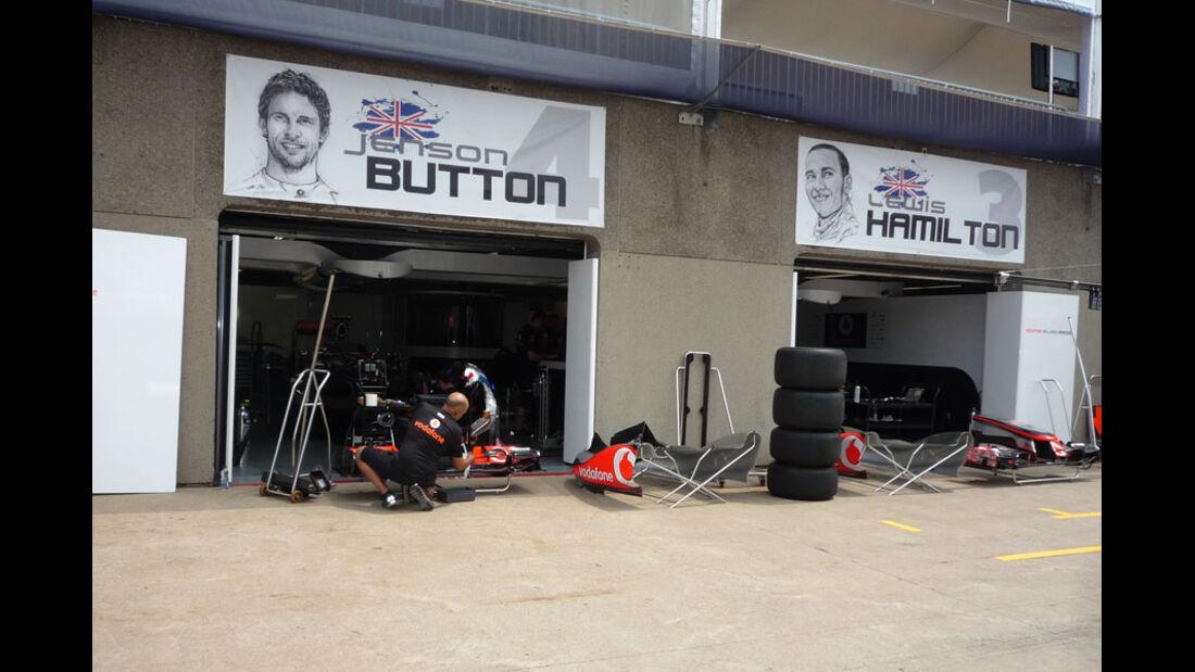 McLaren-Box GP Kanada 2011