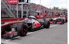 McLaren - Button & Perez - GP Kanada 2013