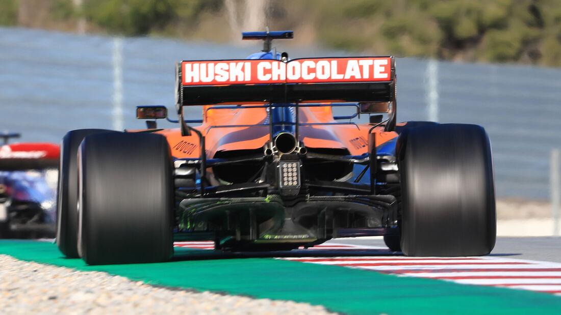 McLaren - Diffusor - F1-Test - Barcelona - 2020