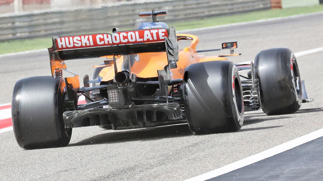 McLaren - Diffusor - Formel-1-Test - Bahrain - 2021