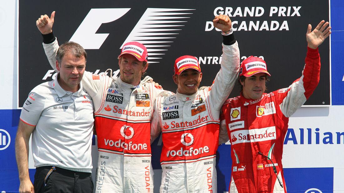 McLaren - Doppelsieg - GP Kanada 2010