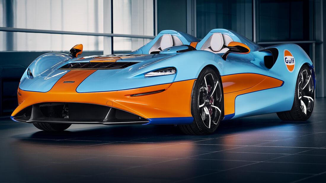 McLaren Elva Gulf Sonderedition Goodwood 2020