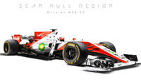 McLaren - F1-Designs 2017 - Sean Bull - Formel 1
