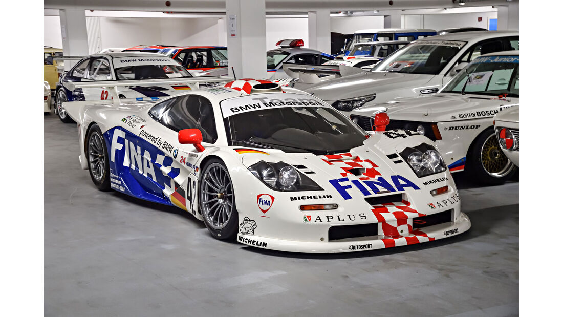 McLaren F1 GTR - Le Mans 1997 - Rennwagen - BMW Depot